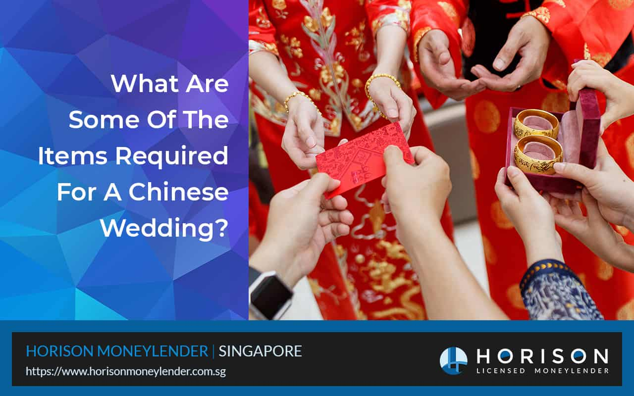 Items Required For A Successful Chinese Wedding In Singapore